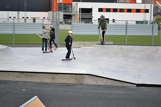 Skateparken