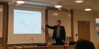 Företagsekonom Fredrik Jutnäs föreläste